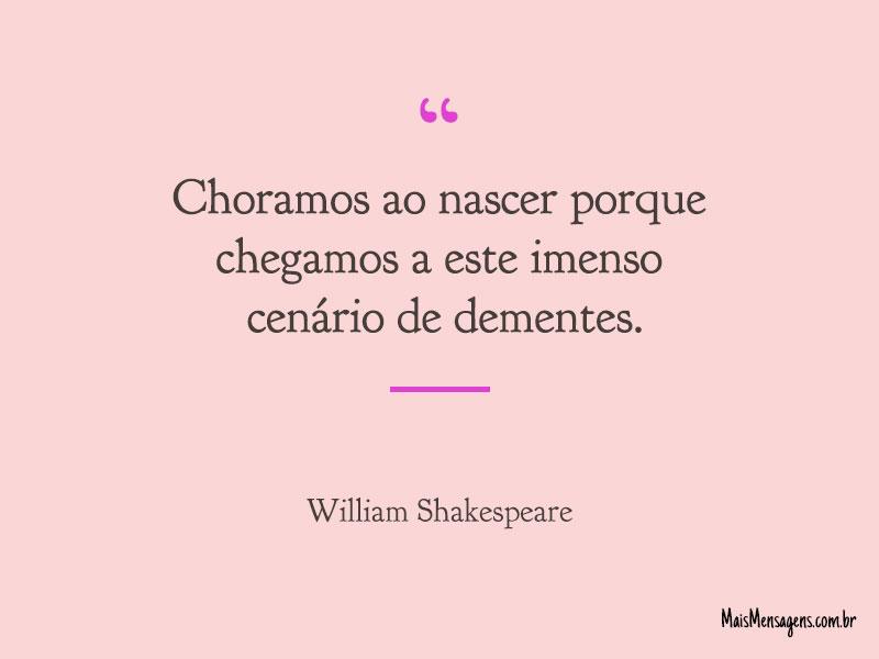 Frases E Mensagens De William Shakespeare
